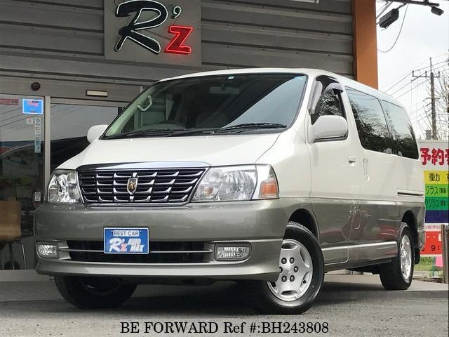 Used 2001 TOYOTA GRAND HIACE BH243808 for Sale