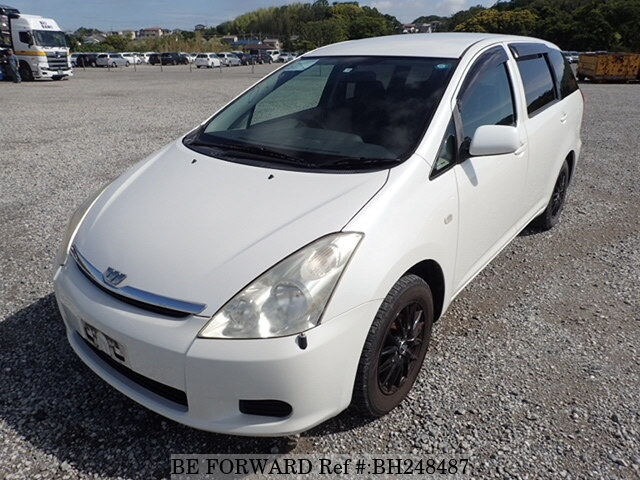 Used 2005 TOYOTA WISH BH248487 for Sale