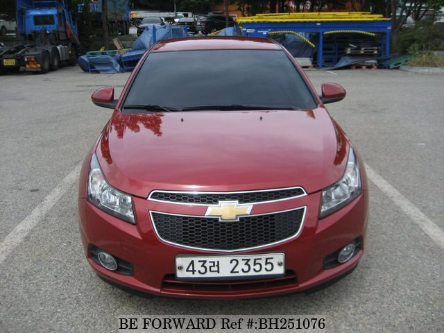 Used 2012 Chevrolet Cruze For Sale Bh251076 Be Forward