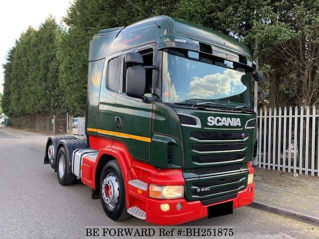 Used 2011 SCANIA R SERIES BH251875 for Sale