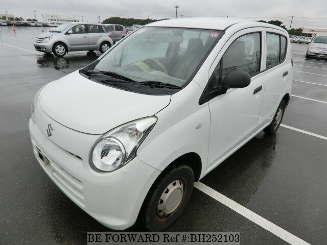 Used 2014 SUZUKI ALTO BH252103 for Sale
