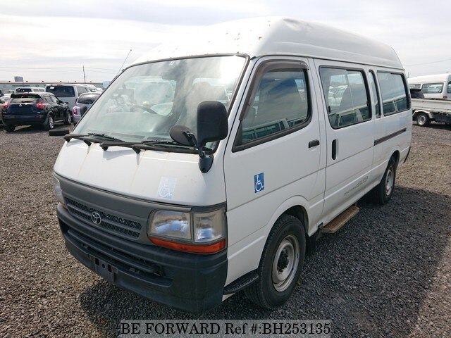 Used 2002 TOYOTA HIACE COMMUTER BH253135 for Sale