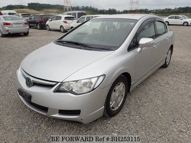 Used 2005 HONDA CIVIC HYBRID BH253115 for Sale