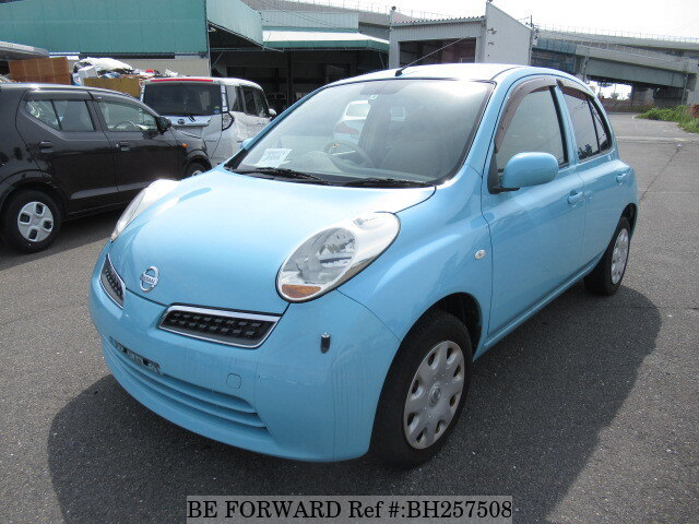 Used 2007 NISSAN MARCH BH257508 for Sale