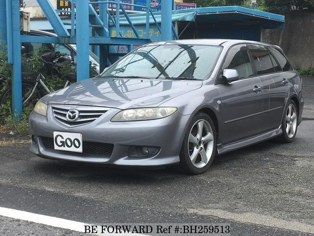 Used 2003 MAZDA ATENZA SPORT WAGON BH259513 for Sale
