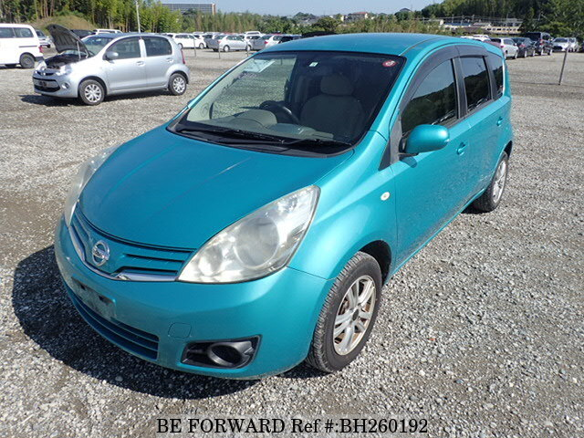 Used 2010 NISSAN NOTE BH260192 for Sale