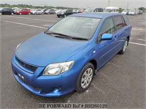 Used 2010 TOYOTA COROLLA FIELDER BH260129 for Sale