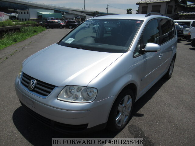 Used 2004 VOLKSWAGEN GOLF TOURAN BH258448 for Sale