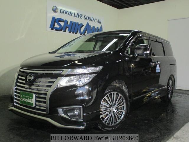 Used 2016 NISSAN ELGRAND BH262840 for Sale