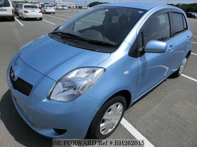 Used 2005 TOYOTA VITZ BH262015 for Sale