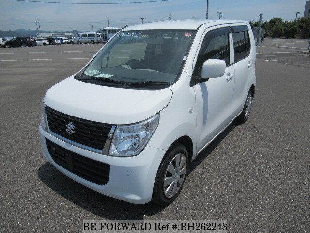 Used 2015 SUZUKI WAGON R BH262248 for Sale
