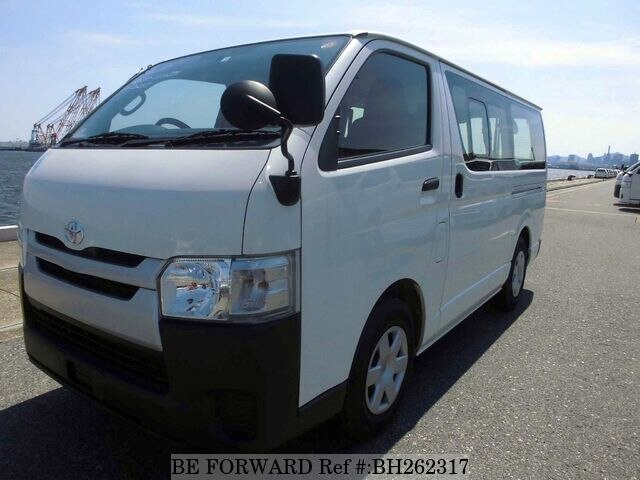 Used 2016 TOYOTA HIACE VAN BH262317 for Sale