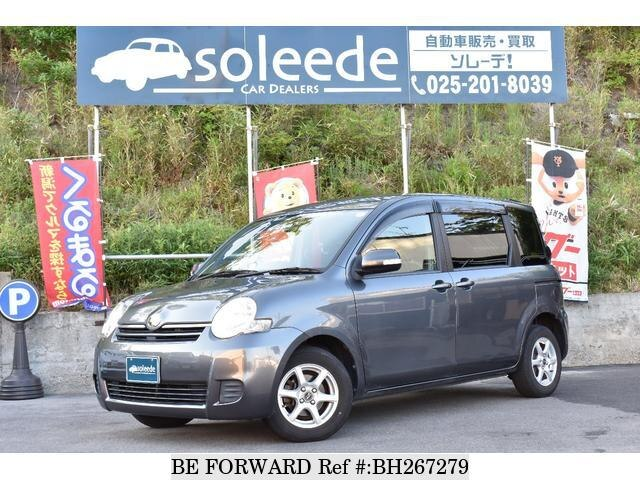 Used 2008 TOYOTA SIENTA BH267279 for Sale