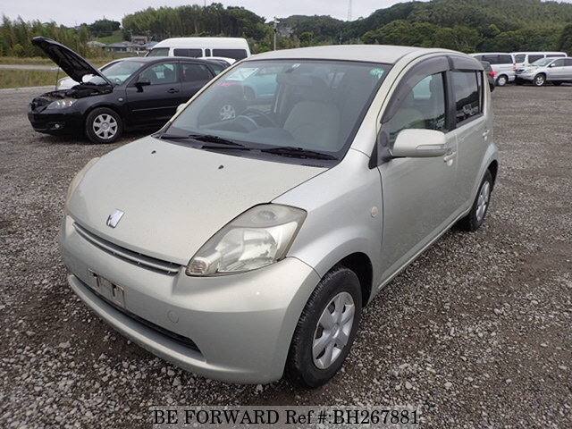 Used 2004 TOYOTA PASSO BH267881 for Sale