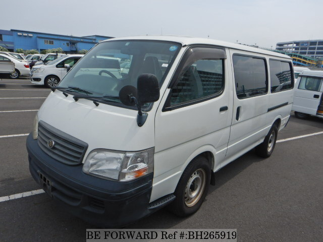 Used 2001 TOYOTA HIACE WAGON BH265919 for Sale