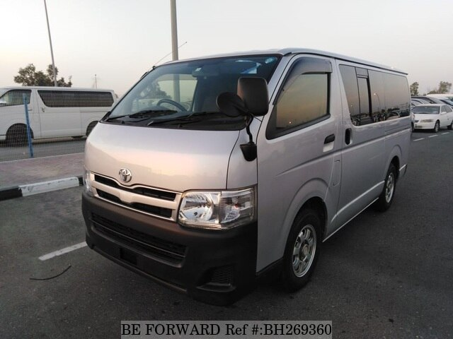 Used 2013 TOYOTA HIACE VAN BH269360 for Sale