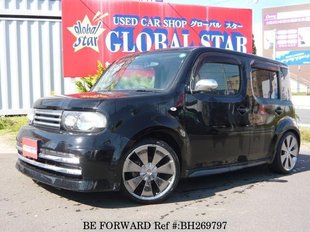Used 2008 NISSAN CUBE BH269797 for Sale