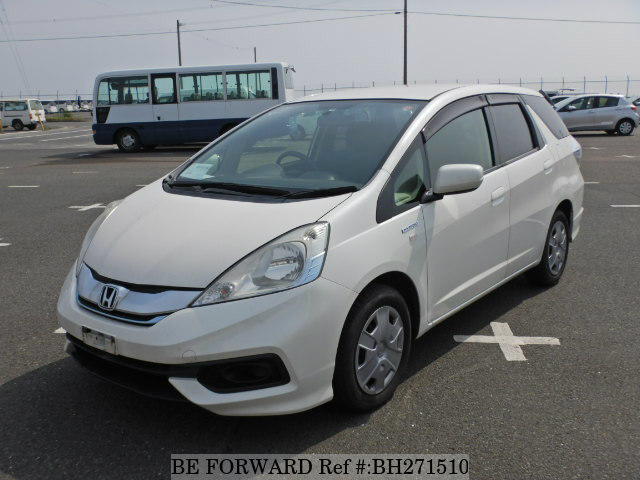 Used 2014 HONDA FIT SHUTTLE HYBRID BH271510 for Sale