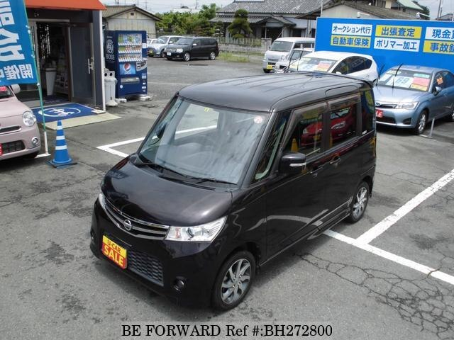 Used 2012 NISSAN ROOX BH272800 for Sale