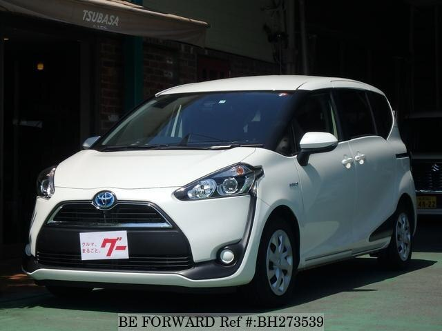 Used 2017 TOYOTA SIENTA BH273539 for Sale