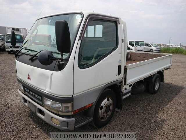 Used 2002 MITSUBISHI CANTER BH274240 for Sale