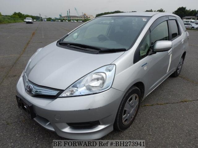 Used 2013 Honda Fit Shuttle Hybrid Daa Gp2 For Sale Bh273941 Be Forward