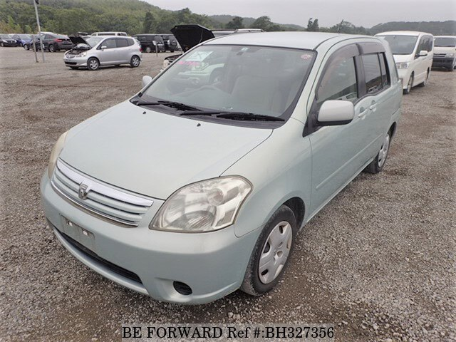 Used 2004 TOYOTA RAUM BH327356 for Sale