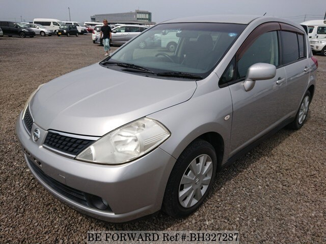 Used 2007 NISSAN TIIDA BH327287 for Sale