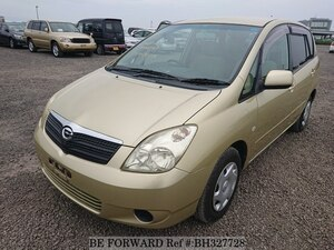 Used 2001 TOYOTA COROLLA SPACIO BH327728 for Sale