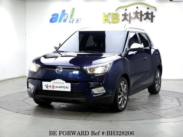 Used 2015 SSANGYONG TIVOLI BH328206 for Sale