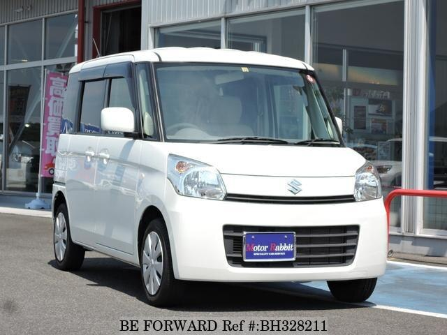 Used 2014 SUZUKI SPACIA BH328211 for Sale