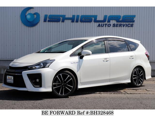 Used 2016 TOYOTA PRIUS ALPHA BH328468 for Sale