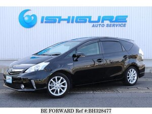 Used 2013 TOYOTA PRIUS ALPHA BH328477 for Sale