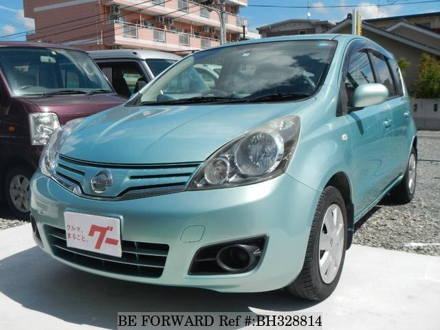Used 2009 NISSAN NOTE BH328814 for Sale