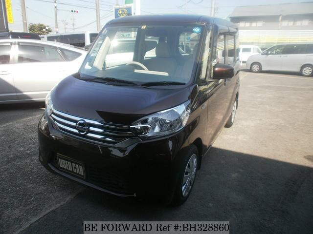 Used 2014 NISSAN DAYZ ROOX BH328860 for Sale