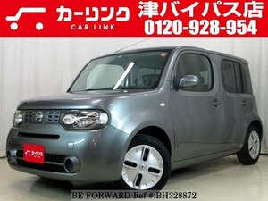 Used 2010 NISSAN CUBE BH328872 for Sale