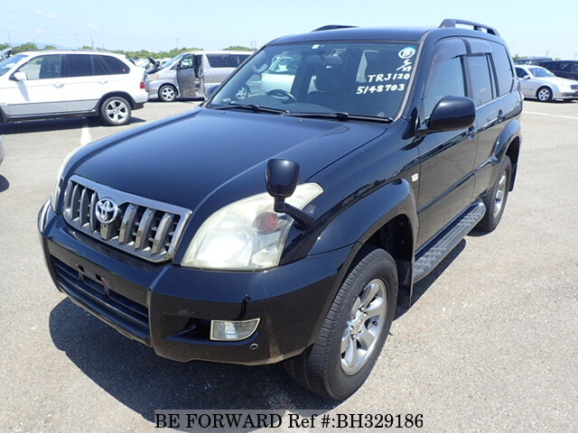 Used 2009 TOYOTA LAND CRUISER PRADO BH329186 for Sale