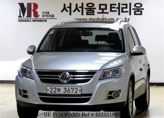 Used 2010 VOLKSWAGEN TIGUAN BH331895 for Sale