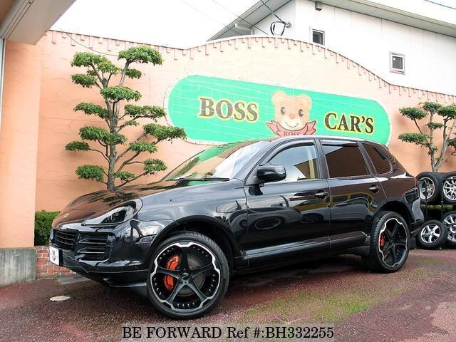 Used 2008 PORSCHE CAYENNE BH332255 for Sale