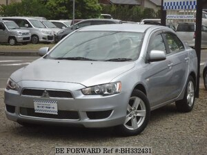 Used 2008 MITSUBISHI GALANT FORTIS BH332431 for Sale