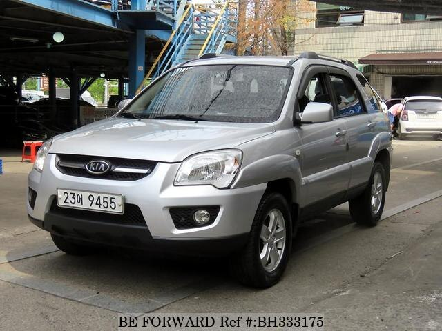 Used 2008 KIA SPORTAGE BH333175 for Sale