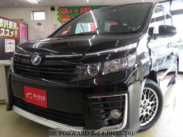 Used 2016 TOYOTA VOXY BH333761 for Sale