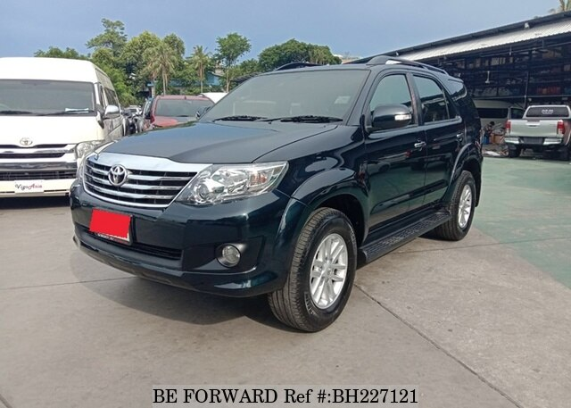 Used 2012 TOYOTA FORTUNER BH227121 for Sale
