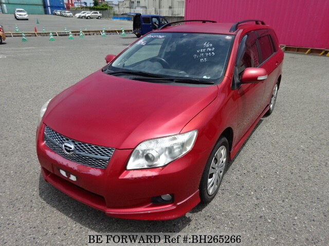 Used 2007 TOYOTA COROLLA FIELDER BH265266 for Sale