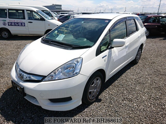Used 2013 Honda Fit Shuttle Hybrid C Daa Gp2 For Sale Bh268613 Be Forward