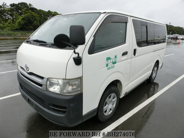 Used 2008 TOYOTA HIACE VAN BH274076 for Sale