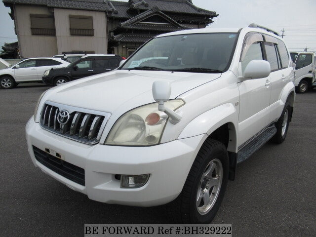 Used 2005 TOYOTA LAND CRUISER PRADO BH329222 for Sale