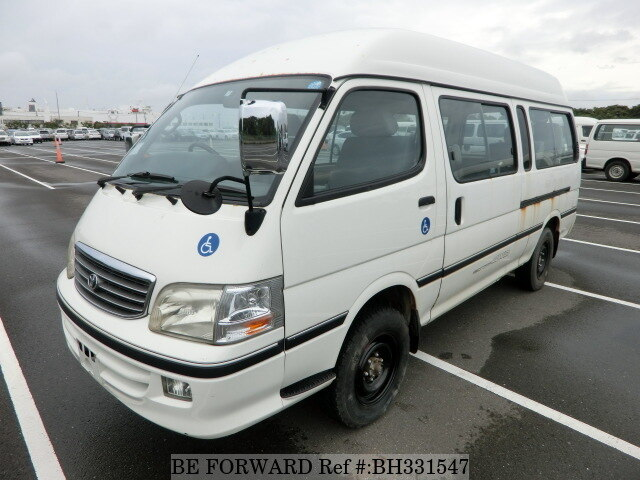 Used 2004 TOYOTA HIACE VAN BH331547 for Sale