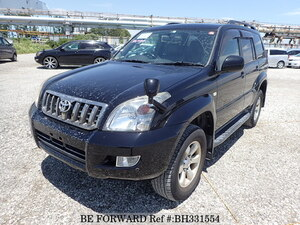 Used 2007 TOYOTA LAND CRUISER PRADO BH331554 for Sale