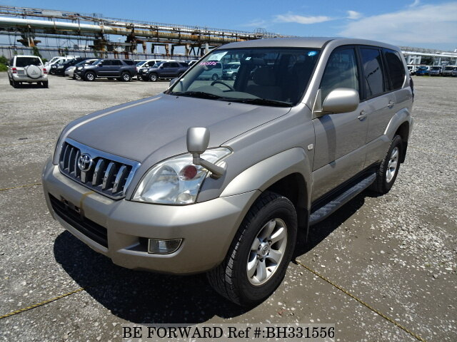 Used 2003 TOYOTA LAND CRUISER PRADO BH331556 for Sale